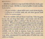 Mediterranean Cookery - Melokhia