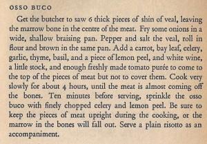 Mediterranean Cookery - Osso Buco
