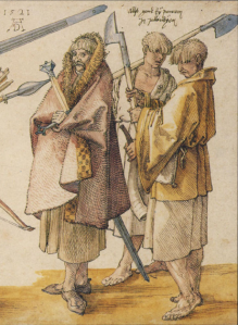 Three Irish Kerns - Durer