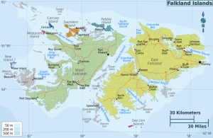 Falkland Islands - Map