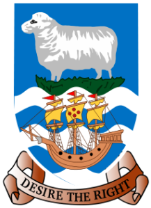 The Falkland Islands - Arms