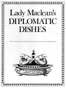 Diplomatic Dishes - Cover