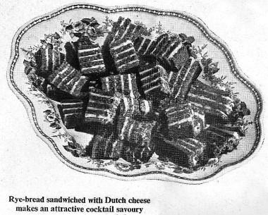 Rye Bread & Cheese