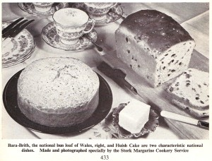 UK Wales - Bara-Brith & Huish Cake (image)