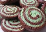 Cocoa-Pistachio Pinwheels