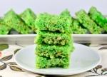 Green Rice Krispies