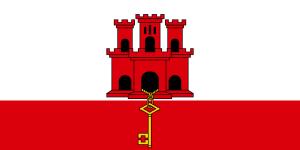 Gibraltar - Flag