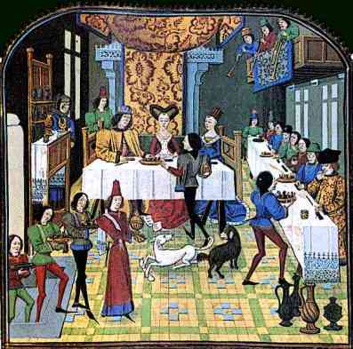 15th-century-French-medieval-banquet