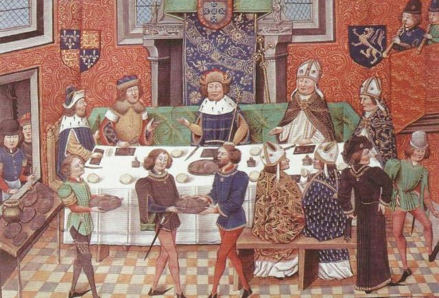 Medieval Banquet - Feasting with The King of Portugal, 1368